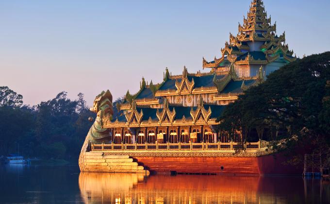 Let's go!Yangon!